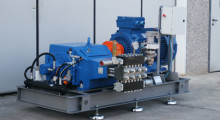 Water high pressure pumps and valves